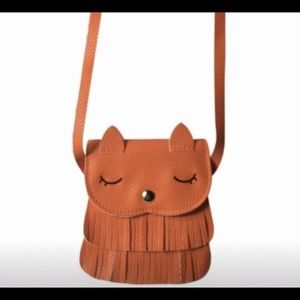 Orange Kids Cat Bag